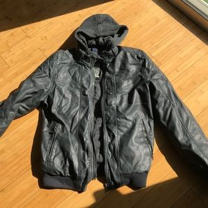 Other - Men Jacket with hoodie  Size medium
